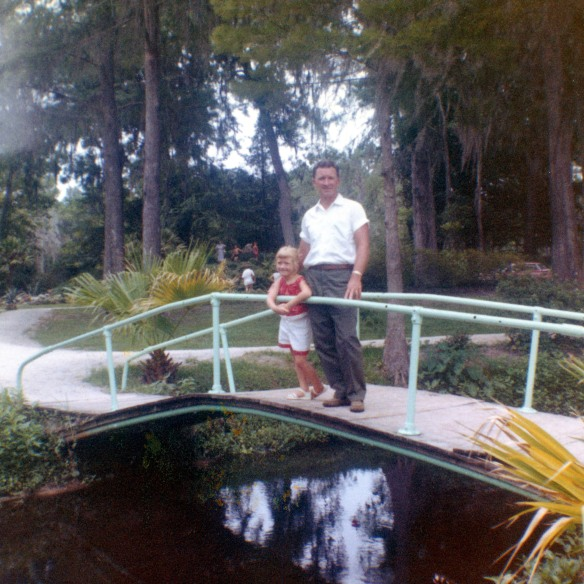 (Joe, the Fix-It Man) Me and Dad in Florida crop